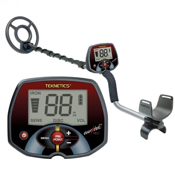 Металотърсач Teknetics Eurotek PRO + Безплатна доставка + 5 подаръка на най-ниска цена